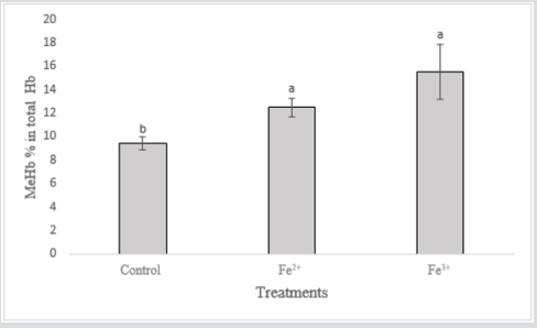 Evaluation of Iron Toxicity in the Tropical Fish Leporinus